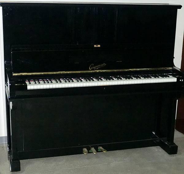 CAPMAN PIANOFORTE VERTICALE NERO LUCIDO + PANCHETTA - #3502320 ...