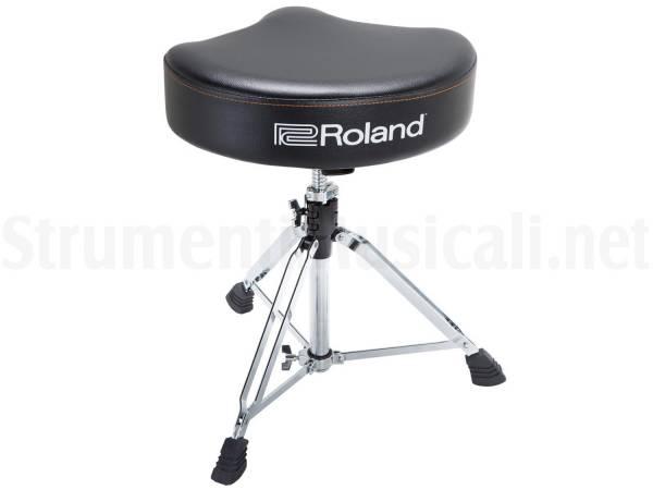 Roland rdt sv saddle drum throne sgabello per batteria a sella