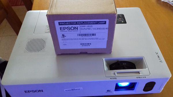 Lampada per videoproiettore epson su mercatino