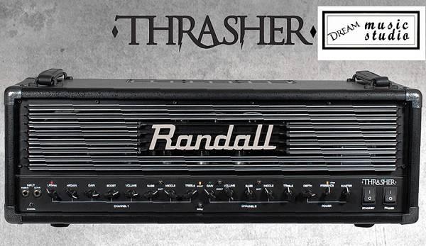 RANDALL THRASHER TESTATA VALVOLARE 2 CANALI DA 120 WATT RMS