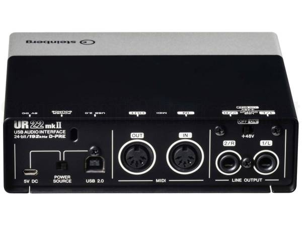 STEINBERG UR22 MKII RECORDING PACK - KIT HOME RECORDING CON ... be745de59557