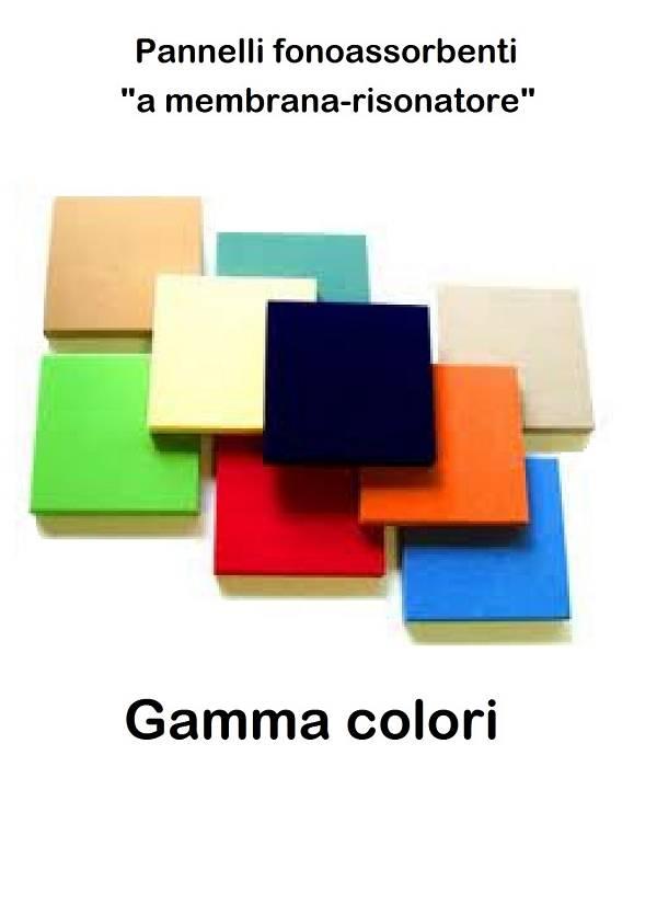 Tecsom pannelli fonoassorbenti decorativi a membrana - Pannelli decorativi fonoassorbenti ...