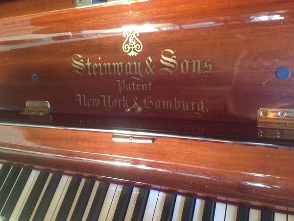 STEINWAY & SONS PIANOFORTE VERTICALE USATO CIRCA1910 PREZZO ...