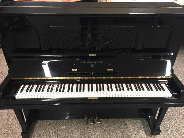 Longato Pianoforti » STEINWAY & SONS- PIANOFORTE VERTICALE CON ...