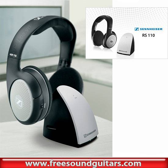 SENNHEISER RS110 CUFFIA SENNHEISER - RS110 CUFFIA WIRELESS STEREO ... 021793945051