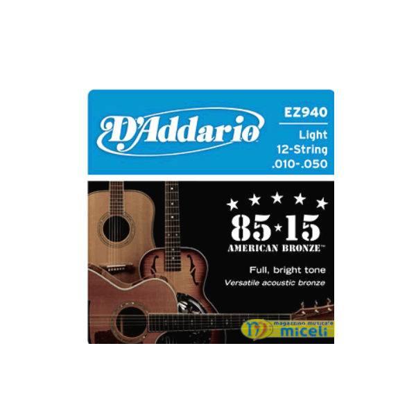 D/'ADDARIO EXL 125 Super Light Top Corde Per Chitarra Elettrica Scalatura 9//46