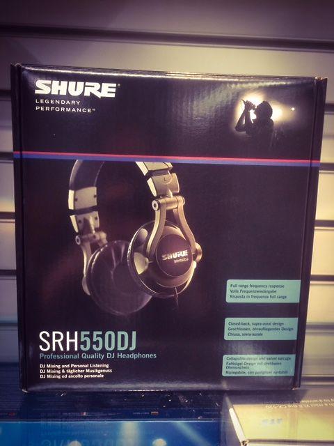SHURE SRH 550 DJ CUFFIE PER DJ -  5124065 - su Mercatino Musicale in ... 84308b0b3784
