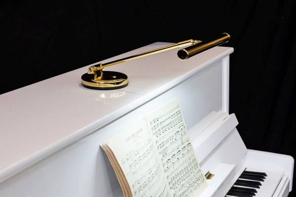Luci led per leggio: lampade per pianoforte bellissime santori