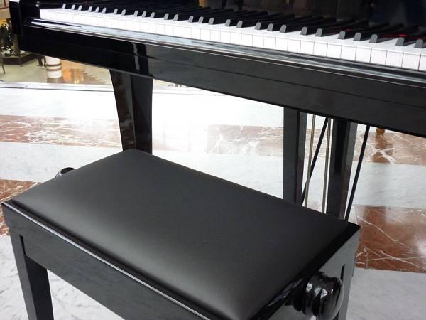 Panca sedia sgabello nero per pianoforte nuovo in promozione