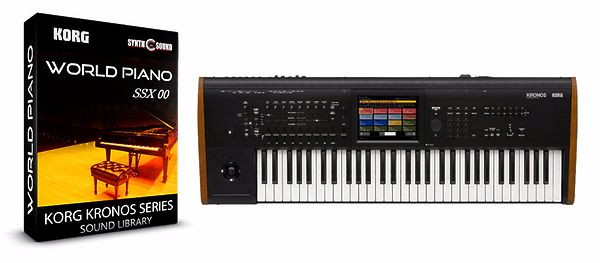 SSX-00 WORLD PIANO - KORG KRONOS SERIES LIBRERIA SUONI PATCHES