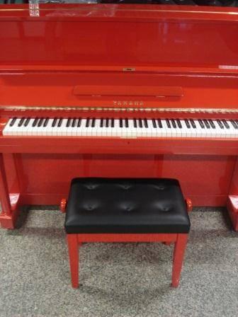 YAMAHA U1-PIANOFORTE VERTICALE- ROSSO-CONSEGNA IN TUTTA ITALIA ...