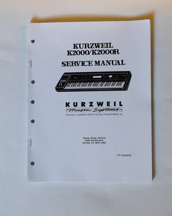 Schemi Elettrici : Manuali e schemi elettrici kurzweil k k r su